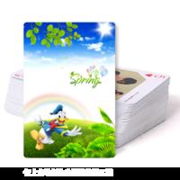春暖花开去旅行--亲子 旅游 风景-双面定制扑克牌