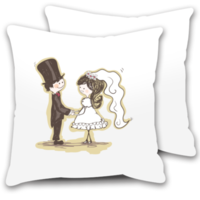 情人节礼物:爱的祝福-情侣抱枕