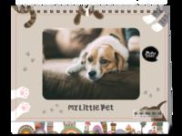 我家的小宠物-样片可换-等风也等你-8寸单面印刷台历