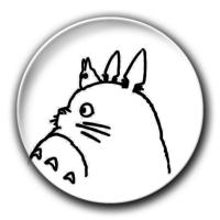 【宫崎骏·龙猫】-7.5个性徽章