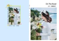 【旅行是一个过程,一次发现】在路上,图文可换-8X12锁线硬壳精装照片书24p