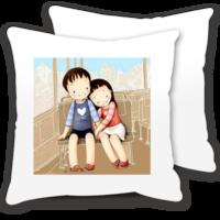 两小无猜的爱情-情侣抱枕