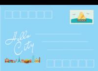 那个城市-等边留白明信片(横款)套装