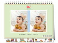 韩国小清新-(微商)8寸双面横款
