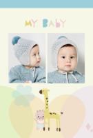 My Baby 我爱你我的宝贝-A5竖款胶装杂志册42p