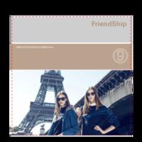FriendShip 闺蜜与友谊 欧美经典原创高档精品自由设计-6x6骑马钉画册