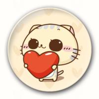 可爱CC猫-7.5个性徽章