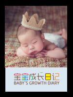 宝宝成长日记#-A4杂志册(36P)