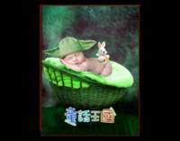 童话王国(封面封底图片可替换)-8寸竖式木版画