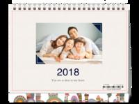 你最珍贵-家庭 全家福 宝宝 亲子 情侣-8寸单面印刷台历