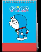 【哆啦A梦】亲亲我的蓝大胖-10寸竖款单面台历