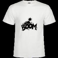 爆炸boom1时尚修身纯棉T恤男款