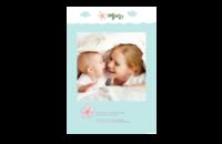 Baby Love 宝贝快乐成长-8x12印刷单面水晶照片书21p