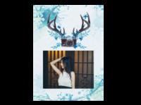 小花花儿#-A4杂志册(24p) 亮膜