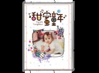 甜蜜童年-A4时尚杂志册(26p)