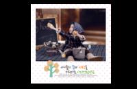韩式韩版宝宝成长相册 童年的记忆(图可换)1106-8x8印刷单面水晶照片书21P