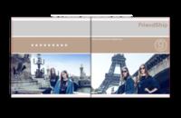FriendShip 闺蜜与友谊 欧美经典原创高档精品自由设计-天使宝贝8X8照片书