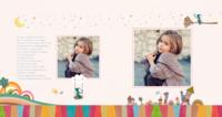 时光故事之童真世界-手绘女孩的成长记-方8寸硬壳照片书32p