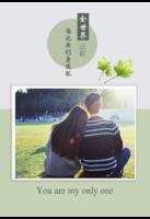 全世界还有谁比我们更绝配--爱情 婚恋 情侣-8x12单面水晶印刷照片书30p