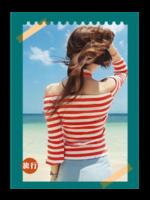 风景在路上(封面封底图片可替换)-A4杂志册(36P)