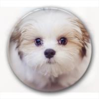 可爱 萌 狗 礼物-卡通小人钥匙扣