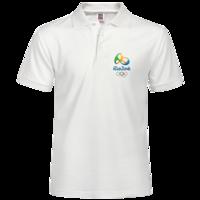2016里约奥运会-男款纯色POLO衫