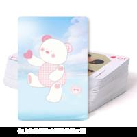 小熊-双面定制扑克牌