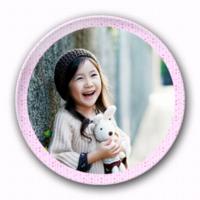粉色点点-4.4个性徽章