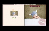可爱韩风-宝贝的百天纪念 祈愿宝宝长命百岁-贝蒂斯8X8博彩书