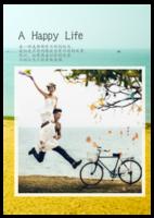 美好的日子-全家福-大合照-字体可编辑-A4环装杂志册26p