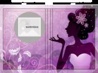 佳人-绚丽紫-硬壳精装照片书