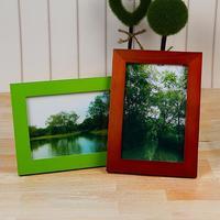 6寸 进口松木简洁相框