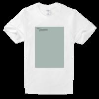 喵了个咪舒适白色T恤