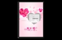 遇见爱-情侣婚礼浪漫-8x12水晶照片书