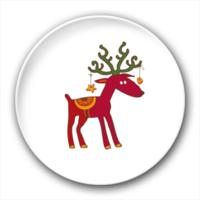 小鹿-4.4个性徽章