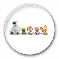 可爱卡通小动物-2.5徽章