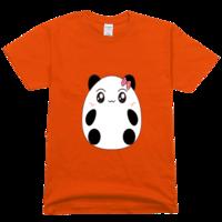 萌萌熊猫高档彩色T恤