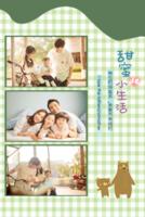 有爸爸妈妈陪伴的甜蜜小生活-样图可换-8x12双面水晶印刷照片书30p