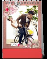 花の恋人-我的婚纱、写真、情侣照片-10寸竖款单面