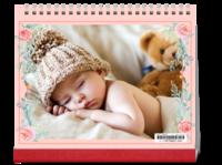 我的宝贝-10寸横款单月双面台历(7页)