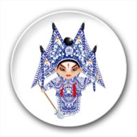 京剧卡通人物-3号-4.4个性徽章