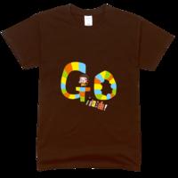 Go-加油!舒适彩色T恤