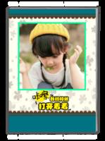 我的相册  儿童 萌娃  宝贝 照片可替换-A4杂志册(40P)