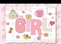 my girl-全景明信片(横款)套装