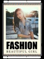 英文 个人写真 通用 时尚  纪念 照片可替换-A4杂志册(40P)