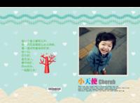 小天使 儿童 照片可换-硬壳精装照片书22p