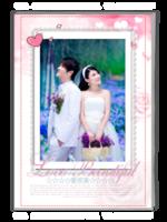 爱很美-浪漫爱情物语(照片可更改)-A4杂志册(32P)