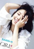时尚女孩(图片可换、装饰可移动)-B2单面竖款印刷海报