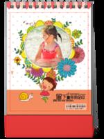 ST26台历卡通宝贝亲子 儿童童年成长纪念-8寸竖款双面
