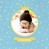 我家的小天使-小小的你是最闪亮的星-8x8双面水晶银盐照片书30p